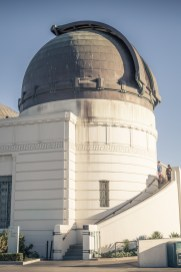 Griffith Observatory, west