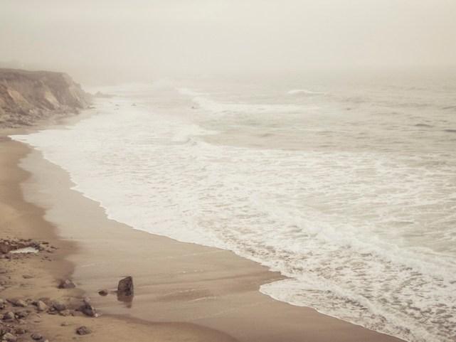 Half Moon Bay California coast