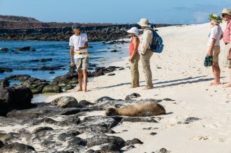 Guests Tour Mosquera Island