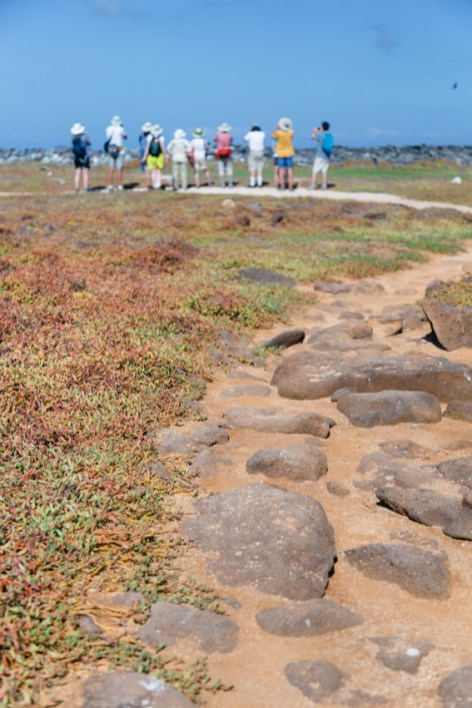 Guests Tour Seymour Island