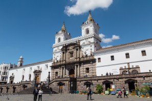 Church of St Francis, Quito Ecuador