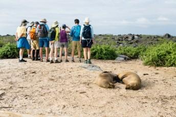 Espanola Island in Galapagos National Park