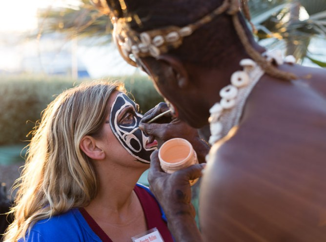 Papua New Guinea tourism event for Travel Massive