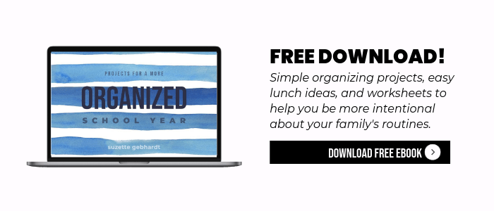 Back To School Organizing Free Download