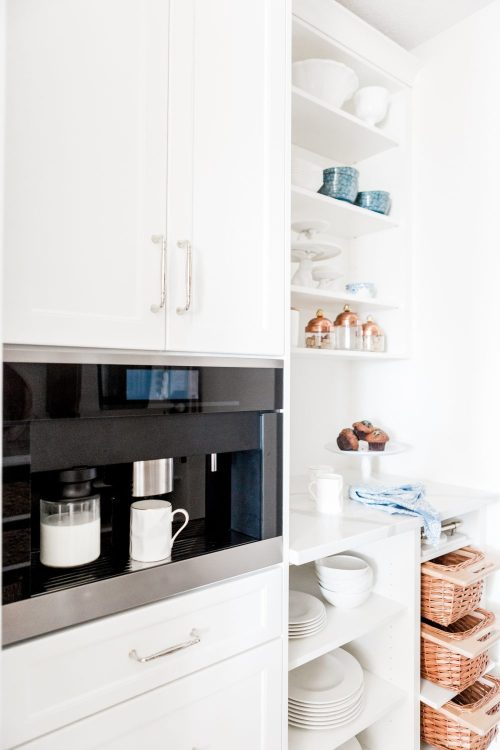 Styling a Designer Pantry