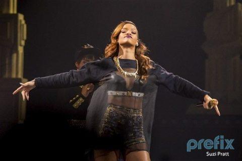 Rihanna @ Key Arena, Seattle, WA