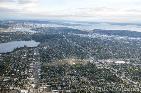 Seattle aerial view