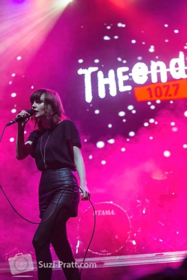 CHVRCHES @ Deck the Hall Ball at Key Arena in Seattle, WA