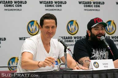 Wizard World Portland Comic Con Sasha Roiz Grimm
