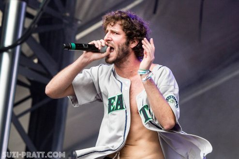 Lil Dicky Bumbershoot Music Festival 2015