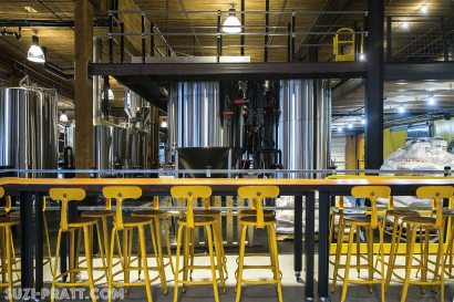 Optimism Brewing Seattle interior photographer