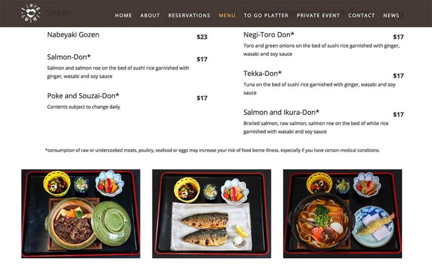 Seattle bellevue food photographer