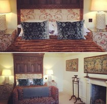 The newly refurbished Tapestry Room