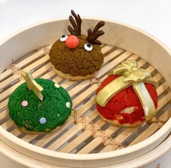 The Dessert Kitchen Christmas Puffs