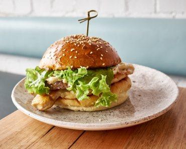 Mr Truffles burger Fish and Burger Co