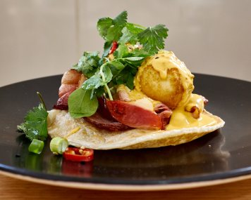 Eggs Benedict Sir Charles Fitzroy
