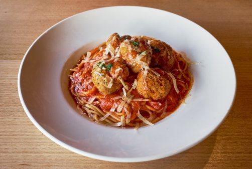 Meatball Spaghetti -  Pacinos Flemington