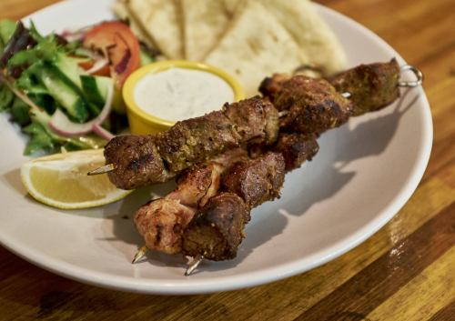 Mixed Kebab Platter at Food Tales Ormond