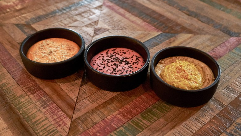 Trio of dips - Dukkah, South Kingsville