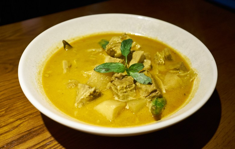 Saigon Curry Beef brisket. Le Charme Melbourne