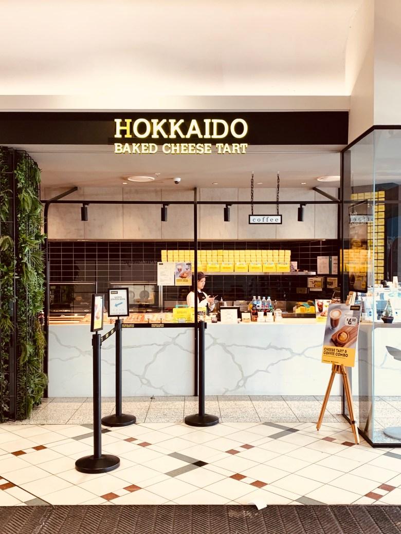 Hokkaido Baked Cheese Tart Store Front Box Hill