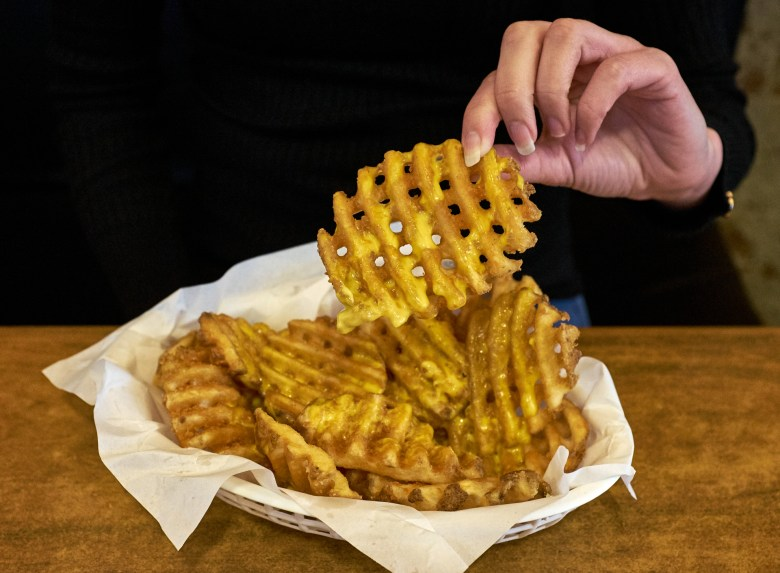 Waffle Fries - Burger Basement Pascoe Vale