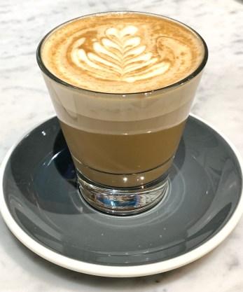 Latte - Dutton Garage Cafe - Suzie Scribbles