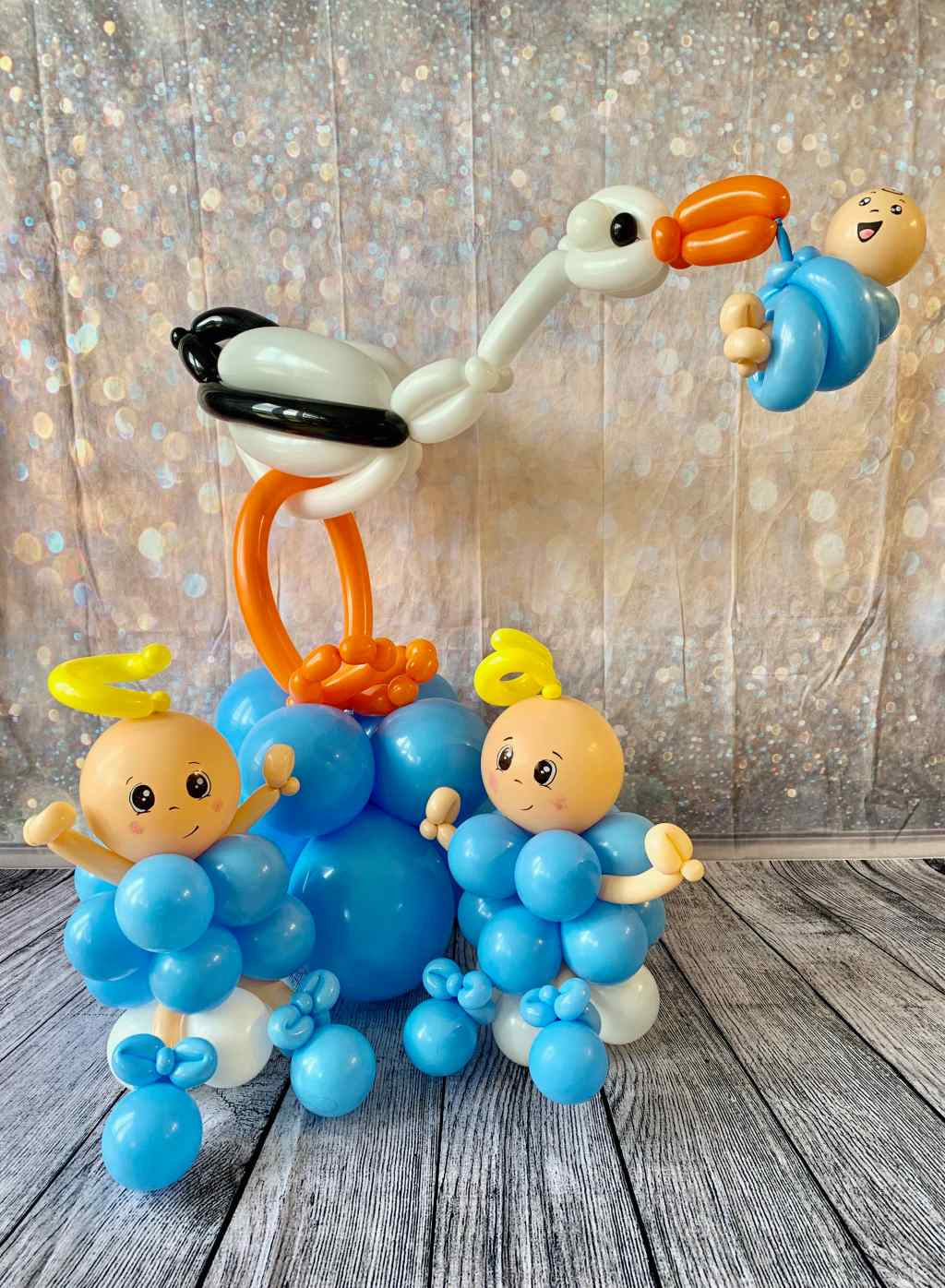 Baby Shower Balloon Pieces