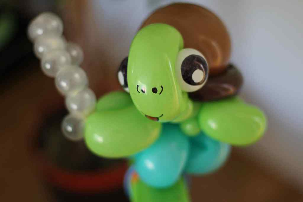 Sea Turtle Balloon Animal