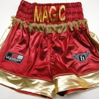 Matthew Hatton Red Boxing Shorts