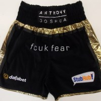 Anthony Joshua Boxing Trunks