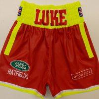Luke Campbell Leather Boxing Shorts