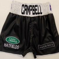 Luke Campbell Boxing Shorts Leather