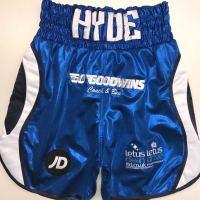 Sam Hyde Blue Custom Fightwear