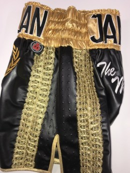 Leather Mexican Boxing Shorts