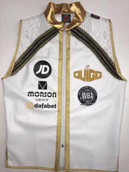 Scott Quigg White Boxing Ring Jacket