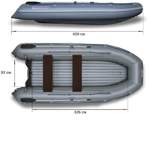 Лодка надувная ФЛАГМАН 450 Image
