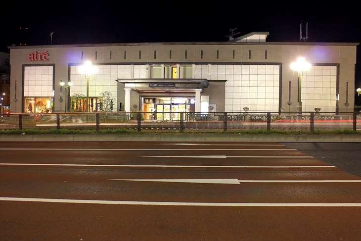 四ツ谷駅から赤坂見附までの風景・夜景