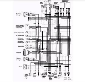 gs300L wiring diagram  Suzuki Forum  Suzuki Enthusiast