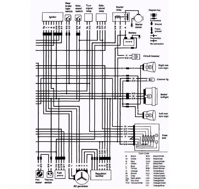 Suzuki Wiring Diagram Motorcycle - Facbooik.com: Suzuki Dr650se Wiring Diagram at ilustrar.org