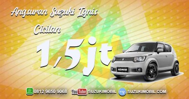 Promo Suzuki Ignis Cicilan 1.5 juta