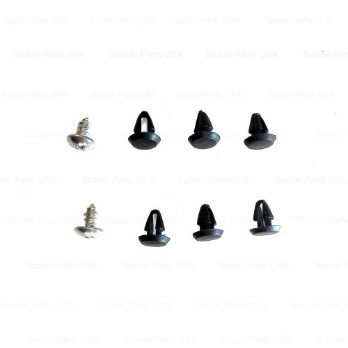 Qty-8-pc-Front-Bumper-End-Cap-Attachment-Clip-Set-SJ413-Suzuki-Samurai-86-95-302630461263-2