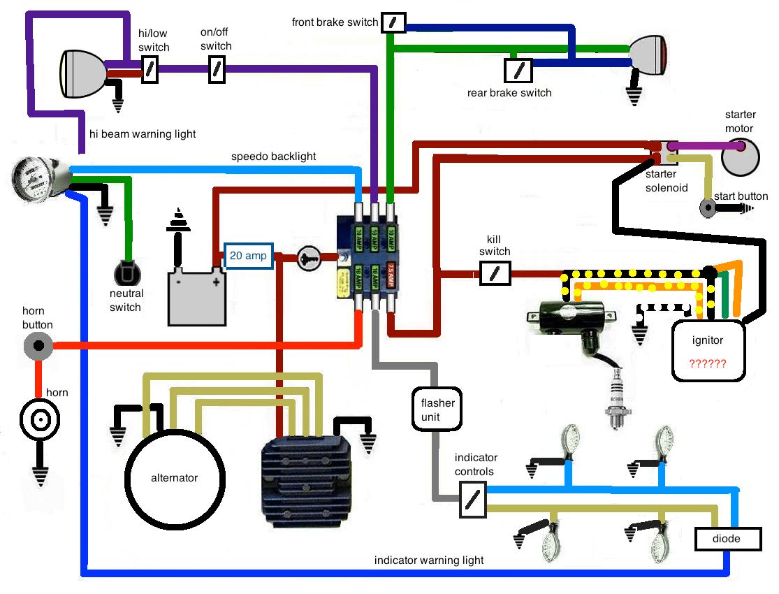 99 Yamaha Big Bear Wiring Diagram