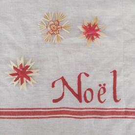Tres bon刺繍クロスと同布反対側に刺繍されています。