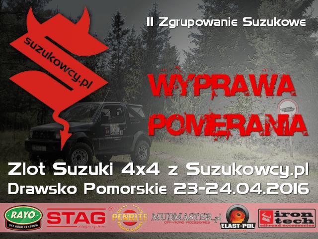 II Zgrupowanie Suzukowe – Wyprawa Pomerania – Zlot Suzuki 4×4 z Suzukowcy.pl