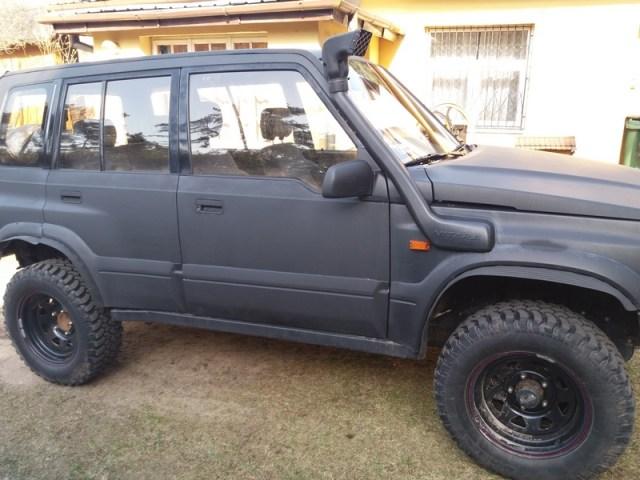Suzuki Vitara – czarny smok Artura