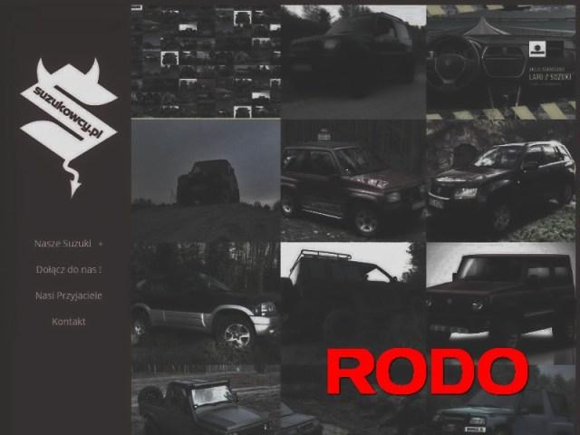 RODO w Suzukowcy.pl