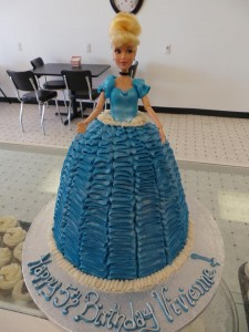 barbie princess 3d cake