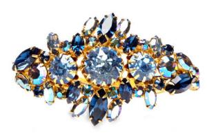 Perette Love - House of Lavande Alice Caviness Blue Clamper Bracelet