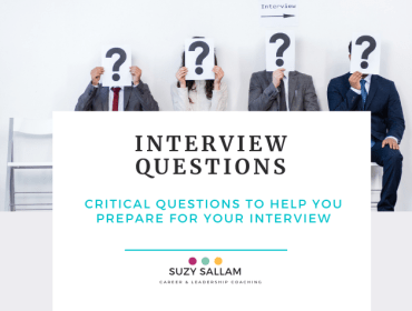 Interview questions - Suzy Sallam Career Coaching